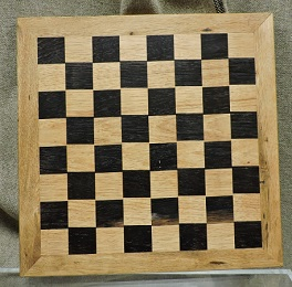 Wooden Chess/Checker Board